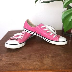 Hot Pink Dainty Sneakers Converse Women's Size 8